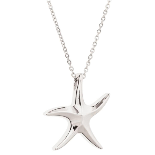 SS Starfish Necklace